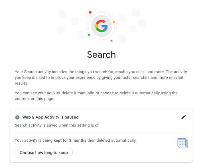 google-web-and-app-activity-delete