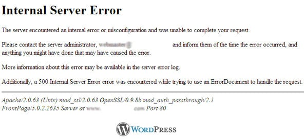 500-internal-server-error-wordpress