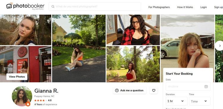 Photographer-profile