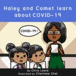 Haley-and-Comet-learn-about-COVID-19-Chris-Lewis